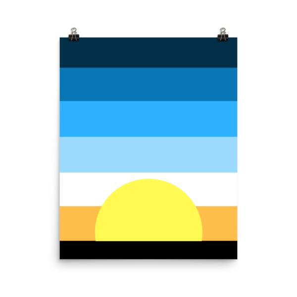 Sunrise Poster - Lorelsberg #poster #print