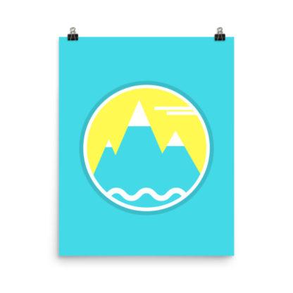 Lorelsberg Mountain Poster