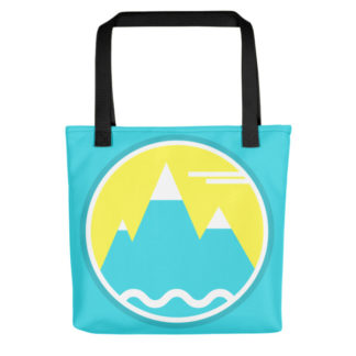 Lorelsberg Mountain Tote Bag