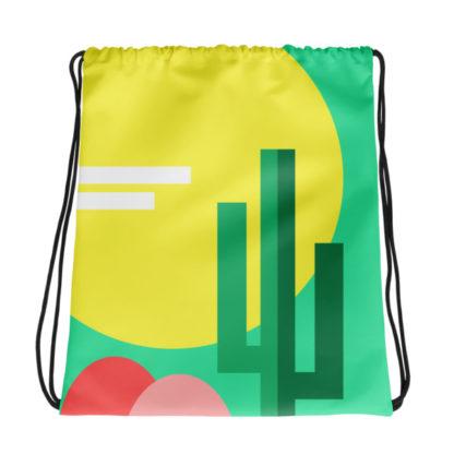 Cactus Drawstring Bag