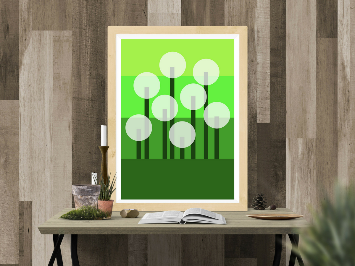 Dandelion Poster - Lorelsberg - Designs Inspired by Nature #nature #poster #interiordesign