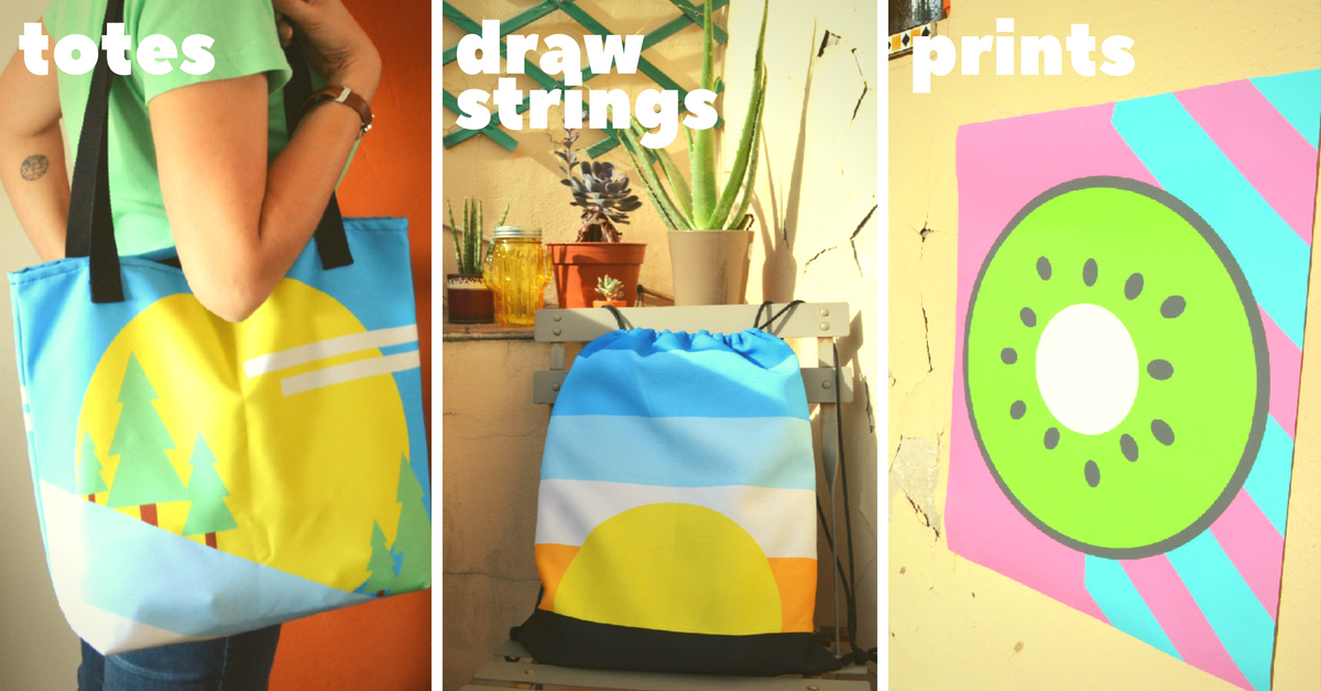 Lorelsberg Shop - Designs Inspired by Nature - Tote Bags, Drawstring Bags, Posters