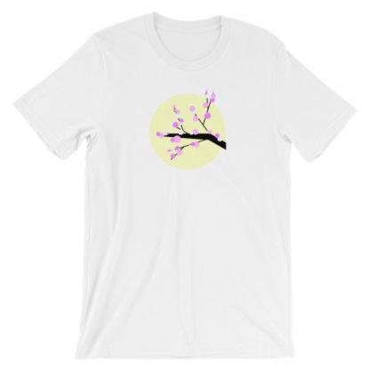 cherry blossom unisex t-shirt white