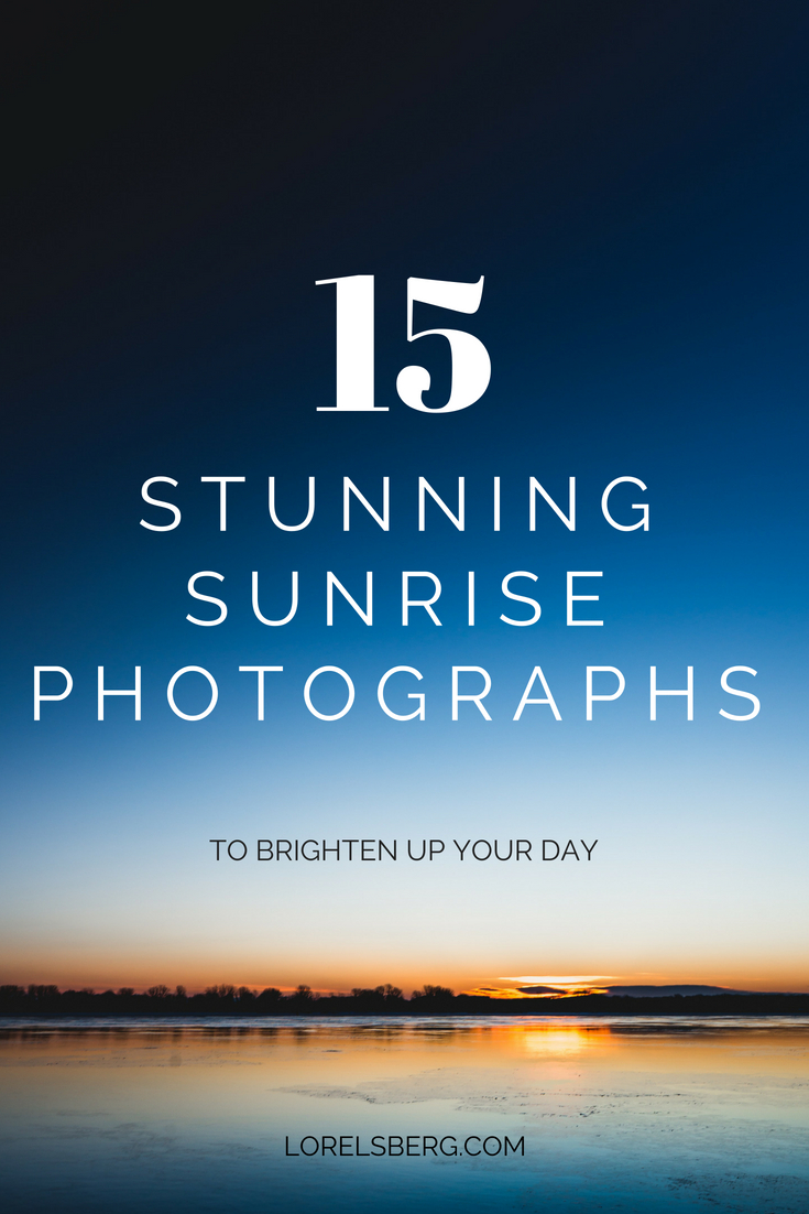 15 Beautiful Sunrise Photos - Free Stock Photos - Lorelsberg #sunrise #photography #stockphotos