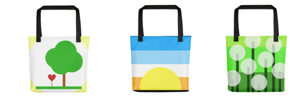 weather resistant tote bags by lorelsberg