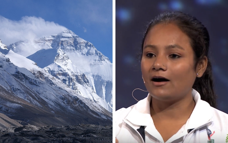 Arunima Sinha and Mount Everest