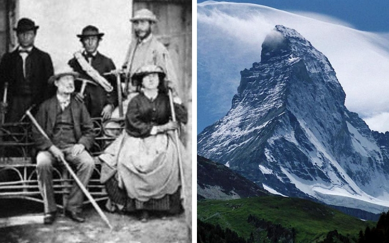 Lucy Walker and the Matterhorn