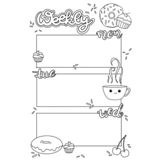 Planner and Journal Printables by Type