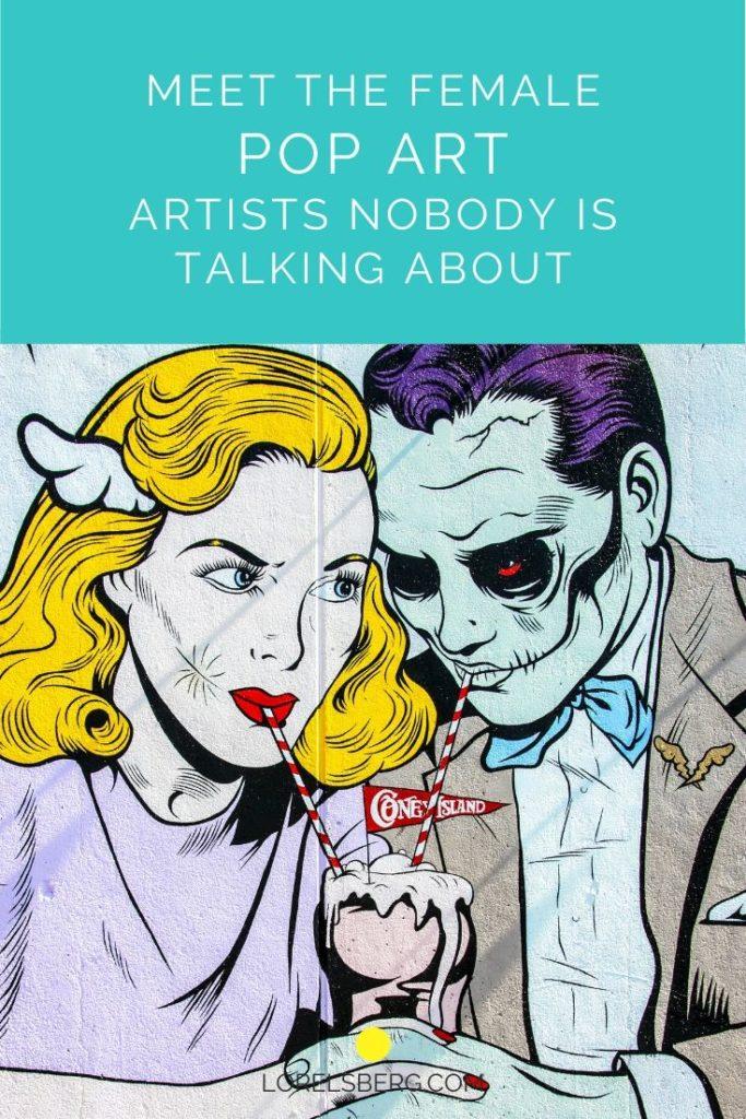 best female pop art artists