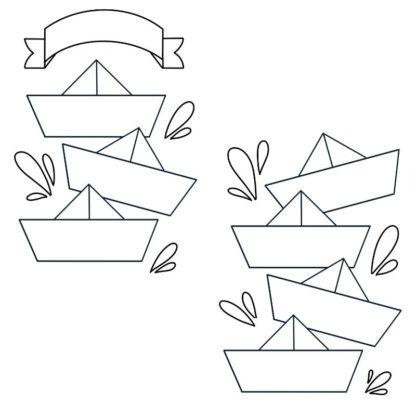 Planner Journal Printable - Origami Weekly 04