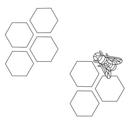 Honeycomb weekly spread
