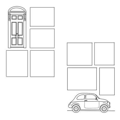 door and car weekly spread