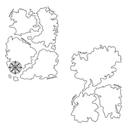 Bujo Page - Explorer Map