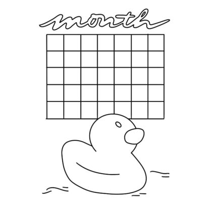 rubber duck monthly overview