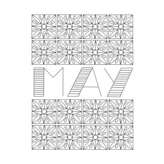 May bujo cover